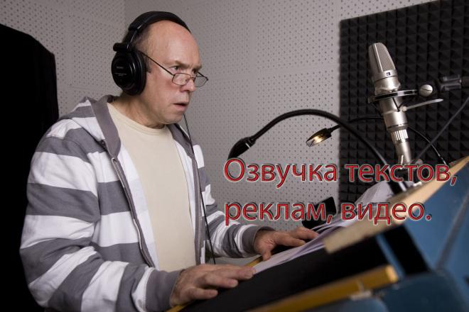 Запишу звук для вашего видео, рекламы, аудиокниги на отличн. микрофон 1 - kwork.ru