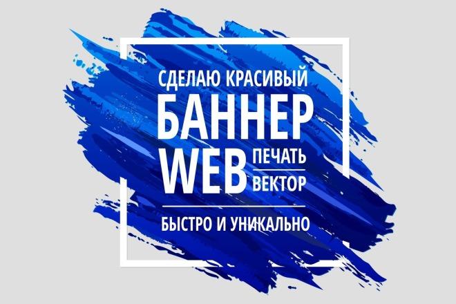 Сделаю качественный баннер для web и печати 22 - kwork.ru
