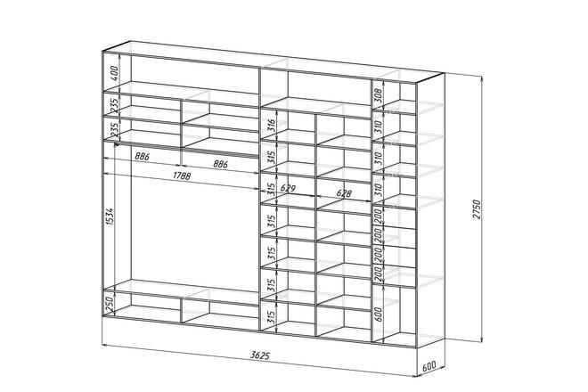 Конструкторская документация для изготовления мебели 138 - kwork.ru