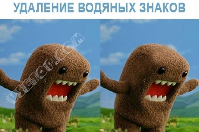 Сотру водяные знаки с изображения 5 - kwork.ru