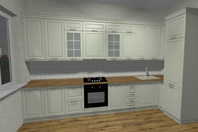 Дизайн и визуализация корпусной мебели 9 - kwork.ru