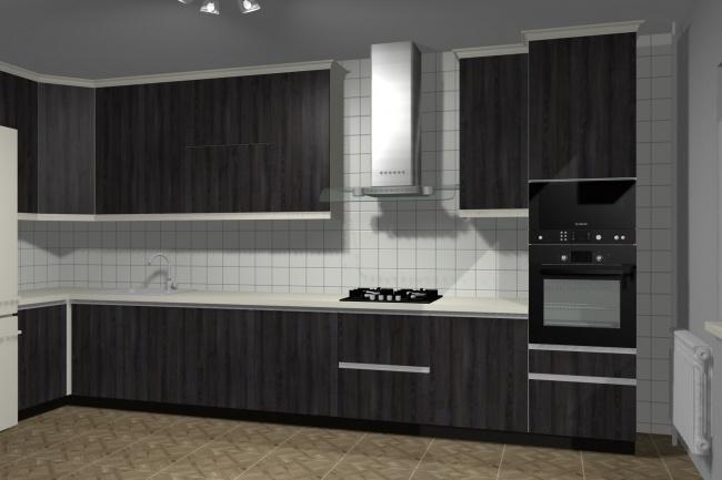 Дизайн и визуализация корпусной мебели 2 - kwork.ru