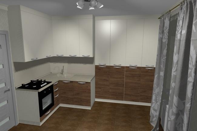 Дизайн и визуализация корпусной мебели 3 - kwork.ru