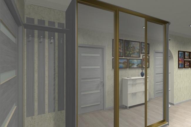Дизайн и визуализация корпусной мебели 7 - kwork.ru