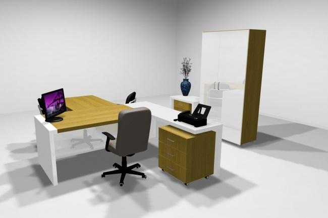 Дизайн и визуализация корпусной мебели 8 - kwork.ru