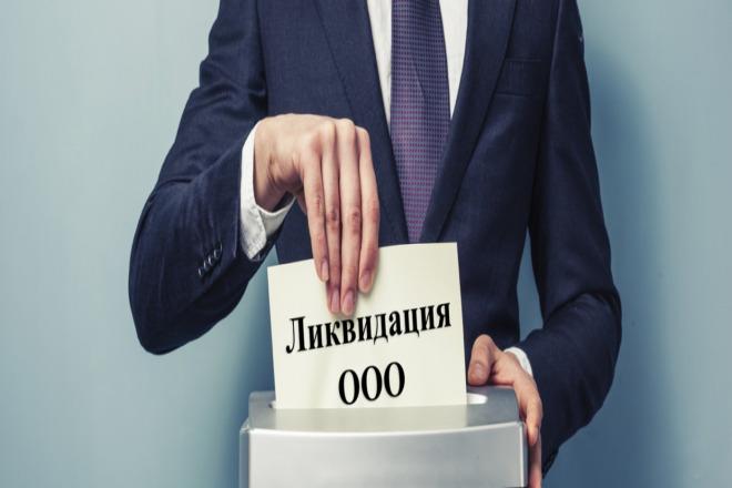 Ликвидация ООО 1 - kwork.ru