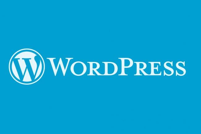 Разработка темы WordPress 1 - kwork.ru
