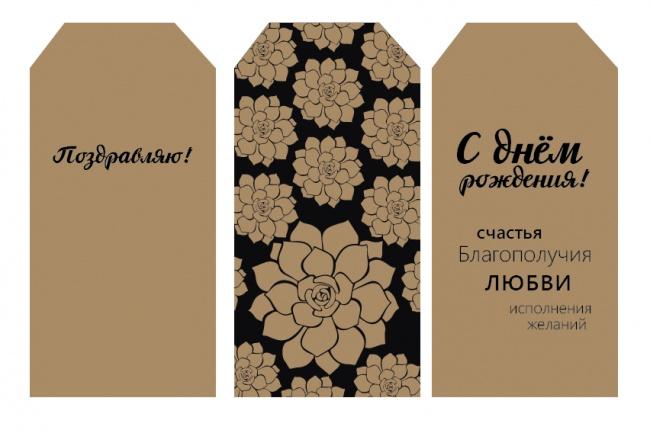 Дизайн визитки для вашего бренда 7 - kwork.ru