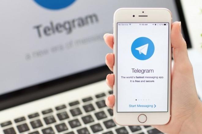 Отправка заявок из контактных форм в ваш Telegram 1 - kwork.ru