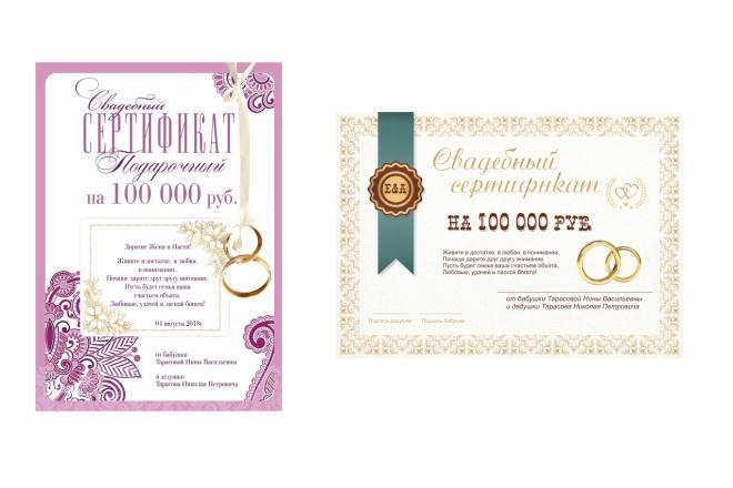 Сделаю сертификат 39 - kwork.ru