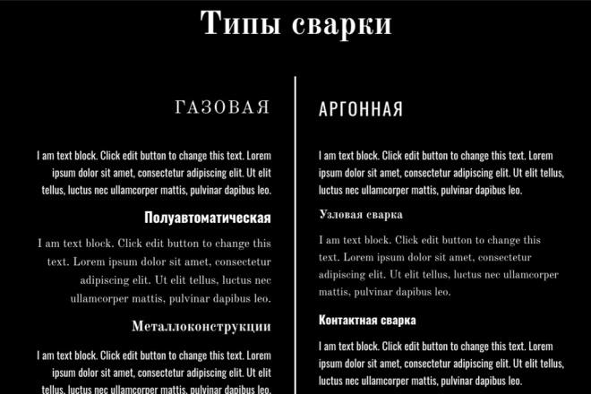 Шаблон сайта Wordpress на Elementor 1 - kwork.ru
