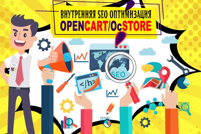 Opencart. Внутренняя СЕО оптимизация магазина на Опенкарт, Ocstore 1 - kwork.ru