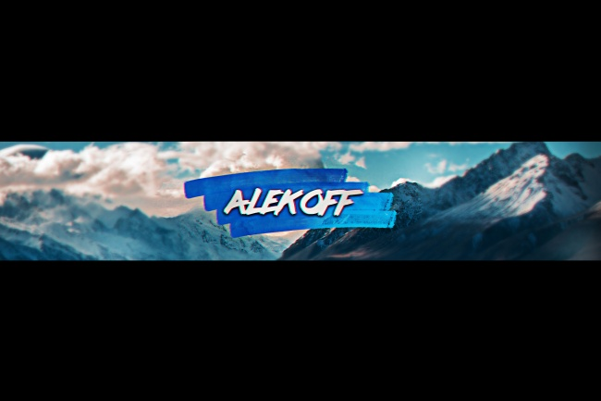 Сделаю баннер или аватарку для YouTube канала 4 - kwork.ru