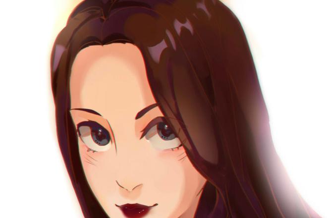 Создам ваш портрет в стиле аниме 59 - kwork.ru