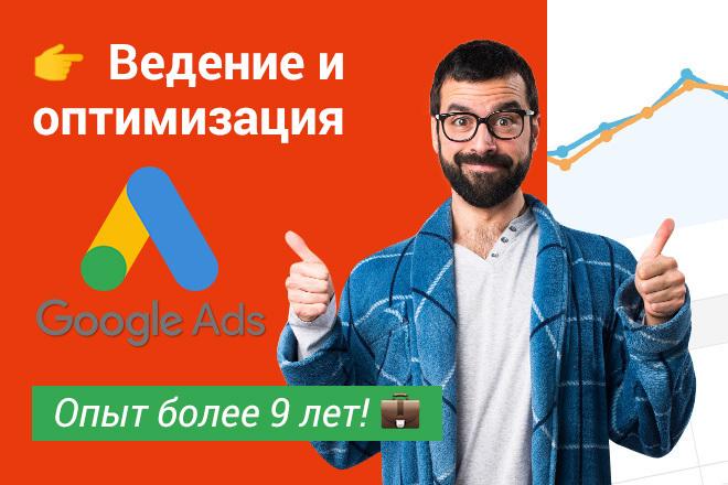 Ведение контекстной рекламы Google 1 - kwork.ru