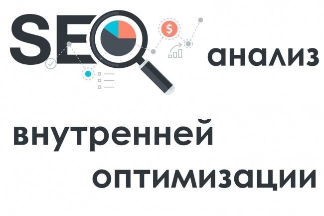 Технический SEO анализ-аудит сайта на внутренние ошибки за 1 день 1 - kwork.ru