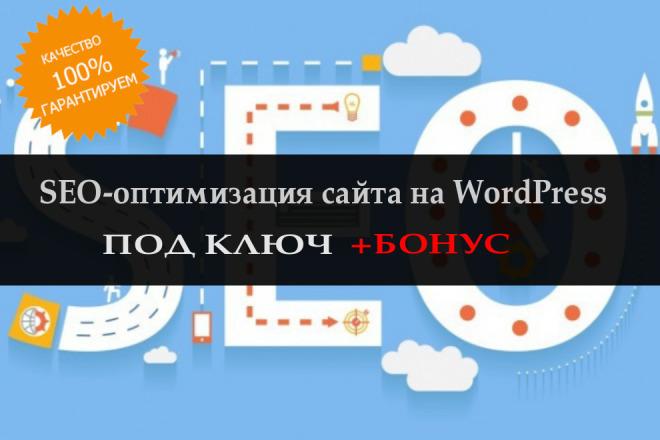 Полная SEO оптимизация для WordPress. Настройка по ключам 1 - kwork.ru
