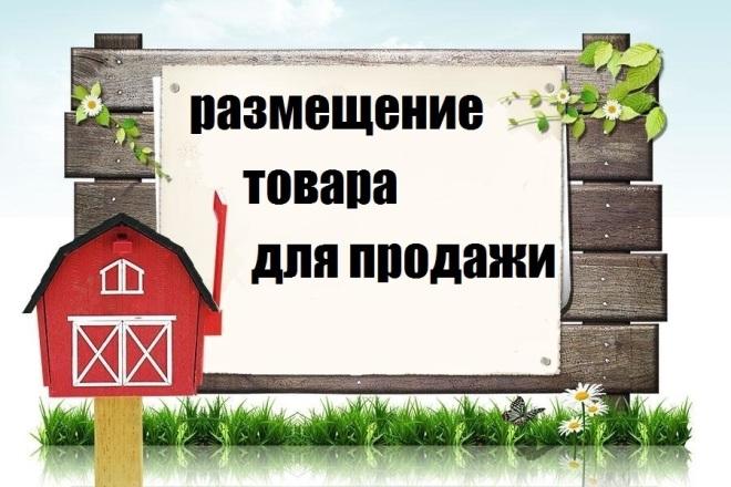 Размещение товара для продажи 1 - kwork.ru