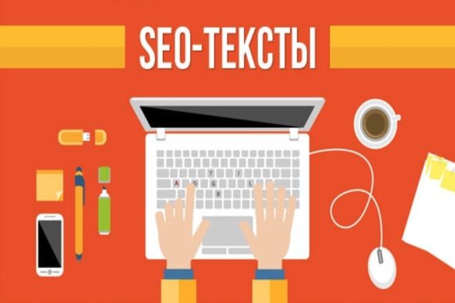 Напишу SEO текст с использованием ключевых слов по вашей теме 1 - kwork.ru