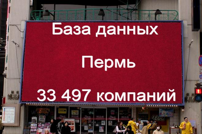 База данных компаний Перми 33497 контактов 1 - kwork.ru