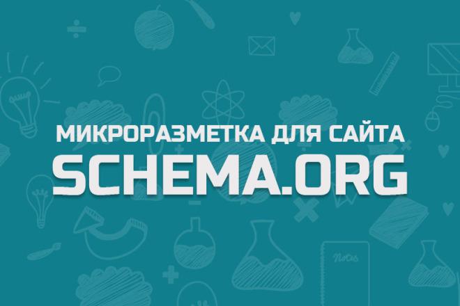 Микроразметка для сайта на Вордпресс 1 - kwork.ru