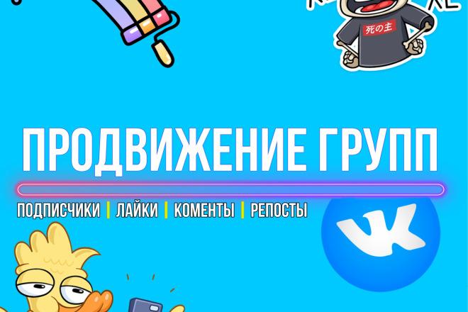 Продвижение групп VK 1 - kwork.ru