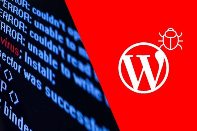 Удаление вирусов с WordPress сайта 1 - kwork.ru