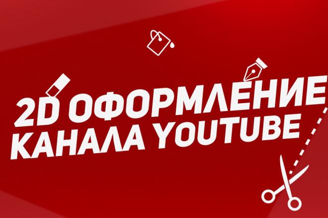 Оформление каналов YouTube. 2D Превью, 2D Шапки, 2D аватарки 4 - kwork.ru
