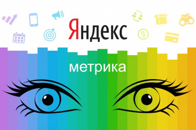 Настрою Яндекс Метрику 1 - kwork.ru