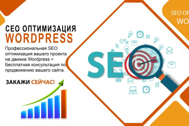 Внутренняя SEO оптимизация сайта на Wordpress 1 - kwork.ru