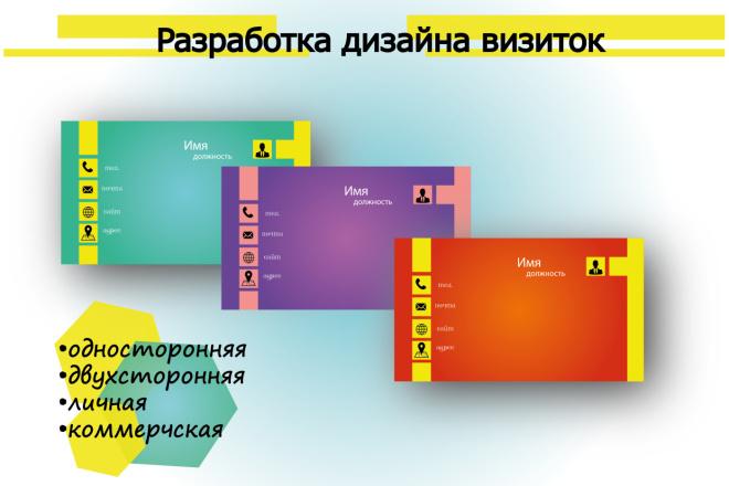 Закажите эксклюзивную визитку 8 - kwork.ru