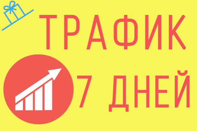 300 посетителей на Ваш сайт ежедневно в течение недели 1 - kwork.ru