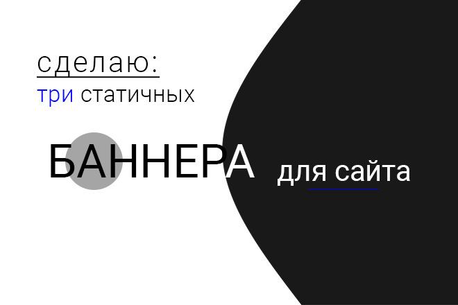 Статичный баннер и исходник к нему 12 - kwork.ru