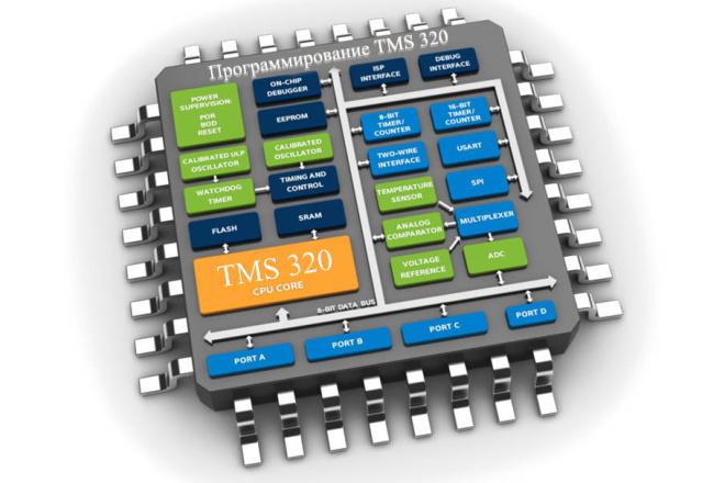 Программирование микроконтроллеров TMS 320 1 - kwork.ru