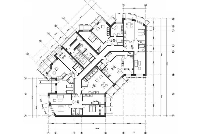 Создам план в ArchiCAD 17 - kwork.ru