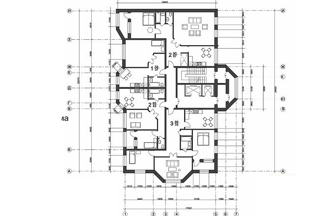 Создам план в ArchiCAD 18 - kwork.ru