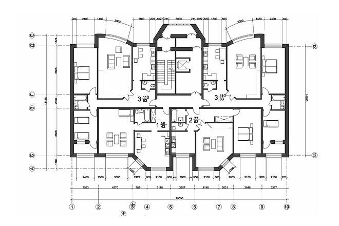 Создам план в ArchiCAD 20 - kwork.ru