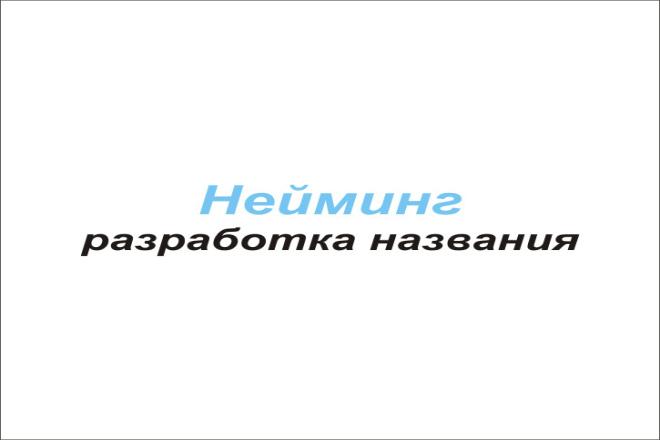 Нейминг 1 - kwork.ru