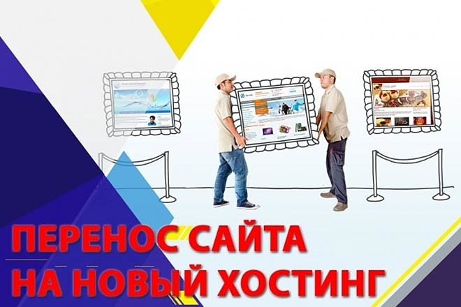 Перенос сайта, установка любой CMS 1 - kwork.ru