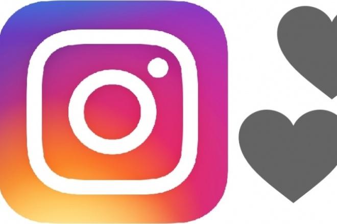 2500 лайков на пост в Instagram 1 - kwork.ru