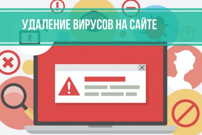 Вылечу сайт от вирусов 1 - kwork.ru