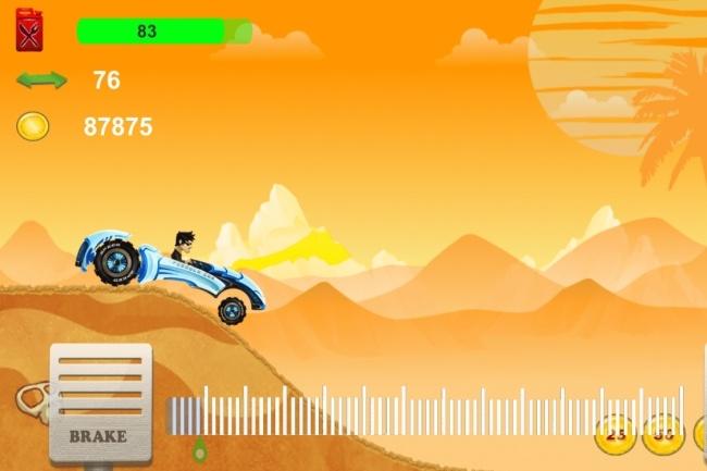 Исходник мобильной игры Hill Climb. Unity3d source code 3 - kwork.ru