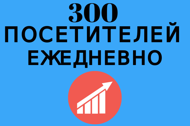300 посетителей на Ваш сайт ежедневно в течение месяца 1 - kwork.ru