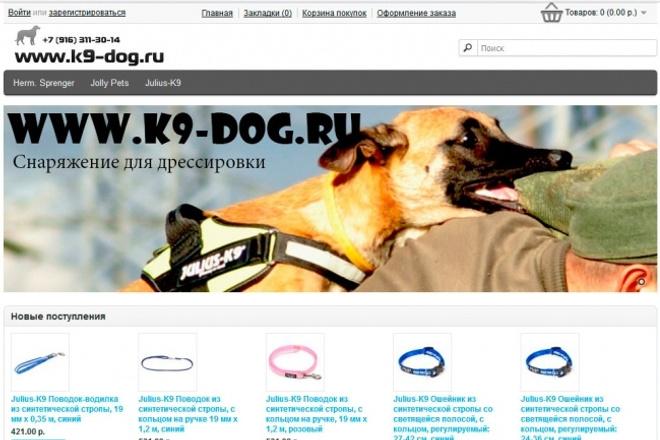 Наполнение интернет-магазина или простого сайта 1 - kwork.ru