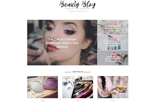 Создадим блог, журнал, новостной портал на WordPress 6 - kwork.ru