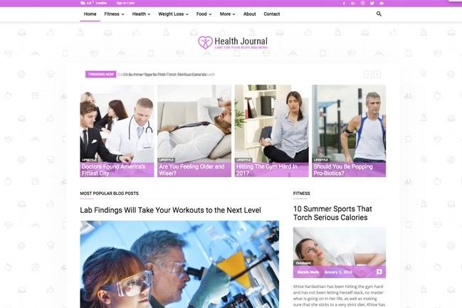 Создадим блог, журнал, новостной портал на WordPress 12 - kwork.ru