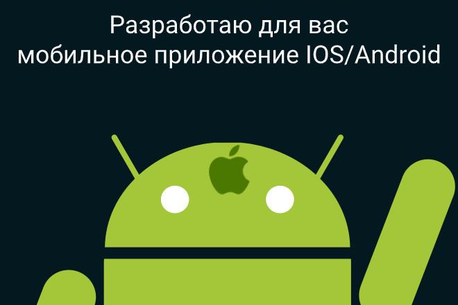 Создам приложение под Android и IOS,1 экран 4 - kwork.ru