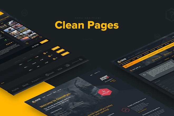 Landing PAGE дешего. 1 Страница PSD FLAT, Material Design 2 - kwork.ru