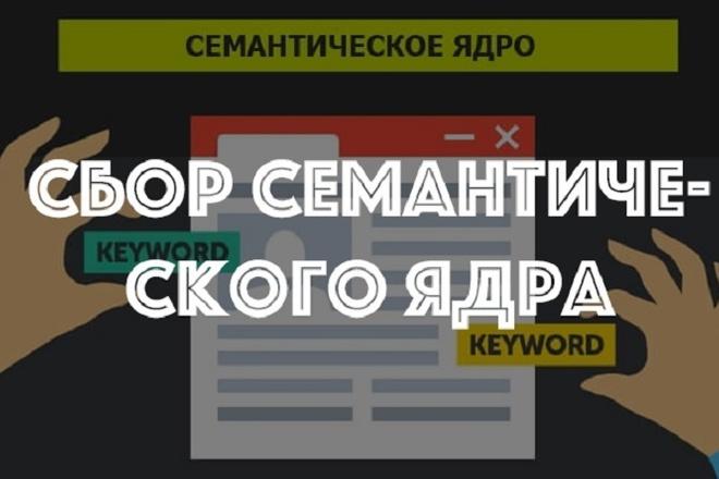 Создание семантического ядра + группировка запросов, рекомендации 1 - kwork.ru