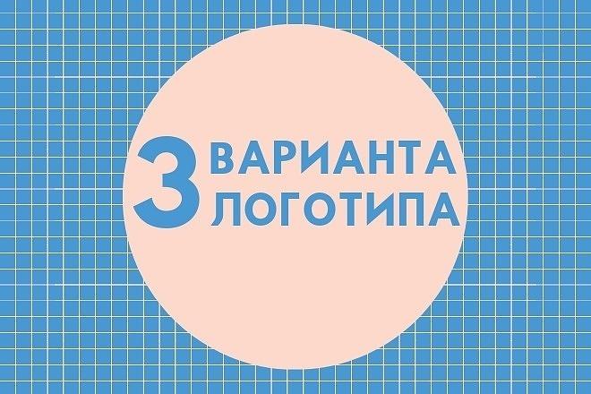 3 варианта логотипа 4 - kwork.ru